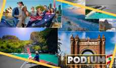 Podium: أفضل 10 وجهات لعطلة شهر كانون الثاني الثلجية