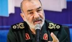 قائد الحرس الثوري الإيراني: يمكن تعطيل التجارة البحرية الإسرائيلية بسهولة