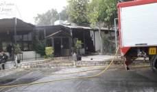الدفاع المدني: حريق داخل مطعم في كفيفان والأضرار اقتصرت على الماديات
