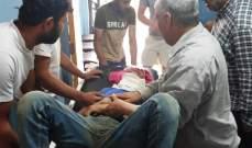 النشرة: سبعة جرحى من أسرة واحدة نتيجة انقلاب سيارة على طريق بوداي- بعلبك