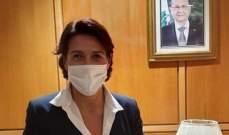 سفيرة فرنسا أكدت حاجة لبنان لبدء مهمة الانقاذ: سأواكب تنفيذ الورقة الاصلاحية ولن أستسلم