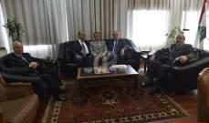 سرحان استقبل أعضاء المجلس الدستوري السابقين