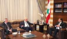 اجتماع مالي بالسراي بهذه الاثناء بين الحريري وخليل وحاكم مصرف لبنان