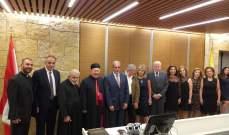 المطران مطر: بحاجة إلى خلاص لبنان من أهل الخير والمحبة والعطاء