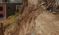 النشرة: انهيار جدار  دعم لورشة بناء في منطقة سيروب بصيدا