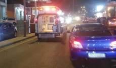 الدفاع المدني: جريحتان اثر حادث سير في جعيتا