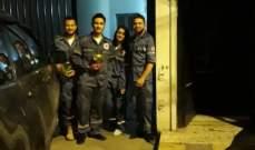 النشرة: فريق من متطوعي الصليب الاحمر بحاصبيا قدم الورود للامهات بمناسبة عيد الام