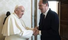 كاستكس التقى البابا فرنسيس: تطرقنا إلى تقرير عن اعتداءات جنسية على الأطفال يدين الكنيسة الفرنسية