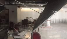 LBC: سقوط السقف الاصطناعي في صالة كنيسة مار مخايل في الشياح