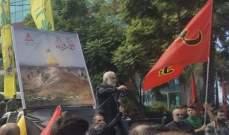 """مسؤول """"حزب الله"""" في جبل لبنان والشمال:للتفاهم والنقاش الجدي لحفظ لبنان"""