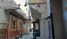 النشرة: تجدد الاشتباكات بمخيم الرشيدية وسماع اصوات القذائف خارج المخيم