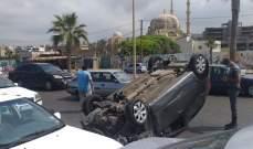 النشرة: حادث سير مروع على كورنيش صيدا البحري