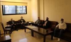 سعد التقى وفدا من رجال الأعمال والمهن الحرة في صيدا والجنوب