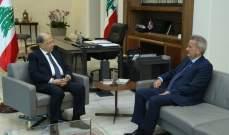 الرئيس عون عرض مع رياض سلامة الاوضاع النقدية في لبنان