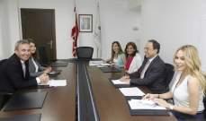 بطيش التقى سفير بريطانيا وتباحثا في اتفاقية الشراكة بين البلدين