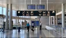الطيران المدني: منع القادمين من الهند والبرازيل من دخول لبنان قبل الإقامة 14 يوما ببلد آخر