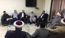 الشيخ حمود التقى وفدا من حماس لبحث تطورات القضية الفلسطينية