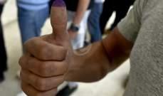 النشرة: نسبة الإقتراع في بعض القرى الكورانية