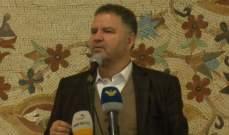 فياض:الوضع يحتاج الى رجال دولة يبنون حساباتهم السياسية على أساس المصالح الوطنية فقط