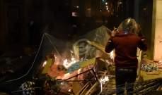 المواجهات مستمرة بين المحتجين والقوى الأمنية في محيط مجلس النواب