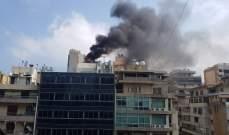 انفجار مولد كهربائي على سطح أحد المباني في كورنيش المزرعة ولا إصابات
