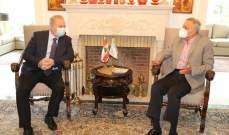 أرسلان التقى السفير الروسي الجديد وبحث معه التطورات الراهنة