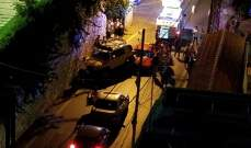النشرة: جريح نتيجة تصادم بين سيارتين في غدير على طريق حاريصا القديم