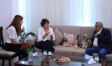 سعد استقبل السفيرة الفرنسية: لا يمكن الخروج من الانهيار إلا عبر تغيير سياسي شامل