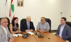 حاصباني إجتمع بمجلس ادارة مستشفى جزين الحكومي وتواصل مع التفتيش المركزي