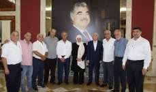 الحريري بدأت لقاءات تشاورية مع القطاعات الاقتصادية بصيدا تحضيرا لمنتدى التنمية الاقتصادية