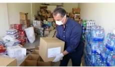 الناشط السياسي خالد ياسين سويد وزع مساعدات على قرى العرقوب شبعا كفرشوبا