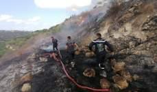 77 مهمة لجمعية الرسالة للاسعاف الصحي شاركت بإخماد حرائق في 54 بلدة جنوبية