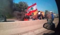 الجيش اللبناني فتح المسلك الغربي لأوتوستراد البترون