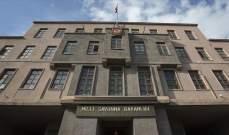 """الدفاع التركية: القضاء على 32 """"إرهابيا"""" من """"بي كا كا"""" شمالي سوريا"""