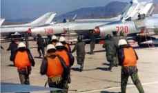 سلطات كوريا الشمالية حركت طائرات وعززت دفاعاتها على الساحل الشرقي
