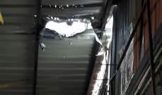 """""""النشرة"""": انهيار سقف منزل في مخيم عين الحلوة"""
