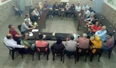 مهجرون فلسطينيون من سوريا بلبنان يعقدون جمعية عمومية:لتتحمل الأونروا مسؤولياتها