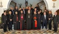 توموس: اوجه شبه كبيرة بين قبرص ولبنان وادعو كل المسيحيين الى تعميق وحدتهم
