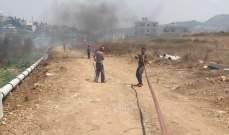 إخماد حريق في خراج برقايل والقرقف بعكار والعمل جار على تبريد الموقع