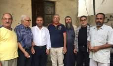 اللجان الشعبية الفلسطينية في عين الحلوة التقت المشرفين على أبار مياه الشفه