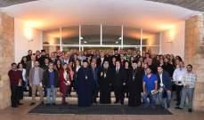 يوحنا العاشر التقى الأمانة العامة لحركة الشبيبة الأرثوذكسية
