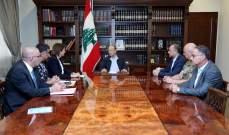 إجتماع أمني في بعبدا برئاسة الرئيس عون للبحث في اعتداء طرابلس الإرهابي