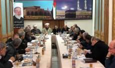 لقاء الأحزاب والشخصيات الوطنية يشيد بنجاحات الحكومة
