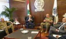 اجتماع بين بوصعب وقائد الجيش للبحث في التهريب والمعابر غير الشرعية