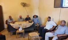 تحالف القوى الفلسطينية والاسلامية وانصار الله تستقبل تجمع لجان الاحياء