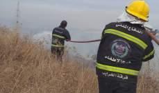 جمعية الرسالة: وحدات الاطفاء التابعة للجمعية شاركت في اطفاء الحرائق في الشوف والدبية واقضية الجنوب