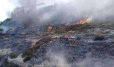 إخماد حريق داخل شقة في كفرنبرخ وحريق أعشاب يابسة وإطارات في المنصف