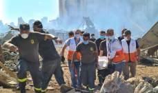 النشرة: فريق من مستشفى الهمشري ساعد بعملية انتشال جثث ضحايا انفجار بيروت