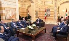الحريري التقى خليل والقضاة عويدات وسعد والياس وابراهيم