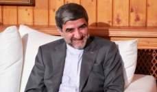 السفير الإيراني: اذا إرتكبت اسرائيل أي مغامرة ضد لبنان سيكون هناك ضربة قاسية في إنتظارها